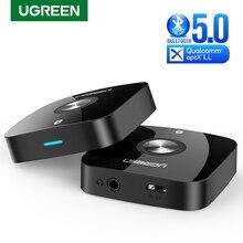 UGREEN Bluetooth 5.0 Ricevitore Audio da 3.5mm Senza Fili di Musica Adattatore con EDR per la Casa Stereo Car Audio In Streaming Sistema Bluetooth
