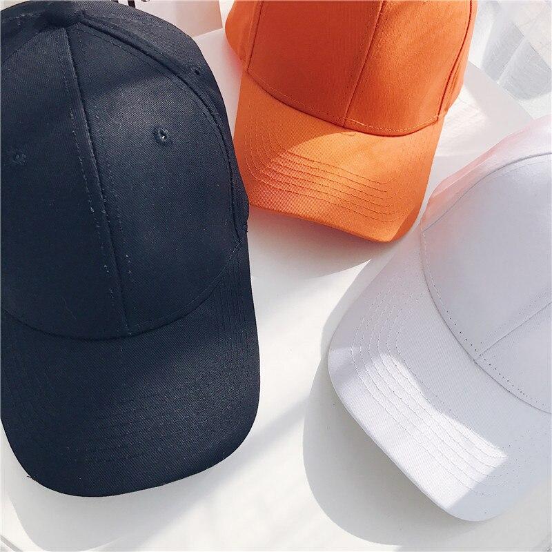 Women Baseball Cap Snapback Casquette Solid Color Men's Baseball Cap Outdoor Sun Hats Summer gorras hombre Adjustable Caps 2020 (7)