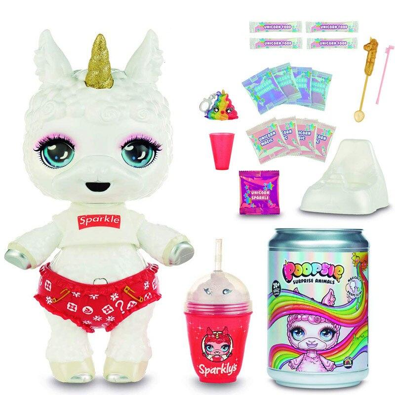 Original New Big Poopsie Slime Surprise Llama Hobbies Toy Accessories Rainbow Poop Llama Girls Toys Christmas Gift For Children