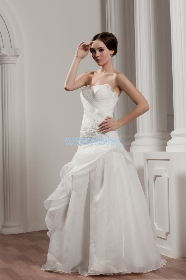 Free Shipping 2015 New Design Hot Sale Custom Size/color Bridal Gown White Lace Up A Line Wedding Dresses
