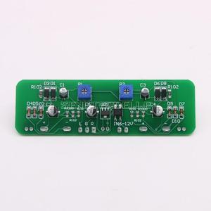 Image 4 - Nouveau 6.3 Double pointeur amplificateur de puissance VU mètre DB niveau Audio compteur de puissance avec rétro éclairage et tension