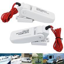 12v Boot Zubehör Marine Lenzpumpe Schalter Wasserstand Controller DC Fluss Automatische Elektrische Sensor Schalter Boot Zubehör