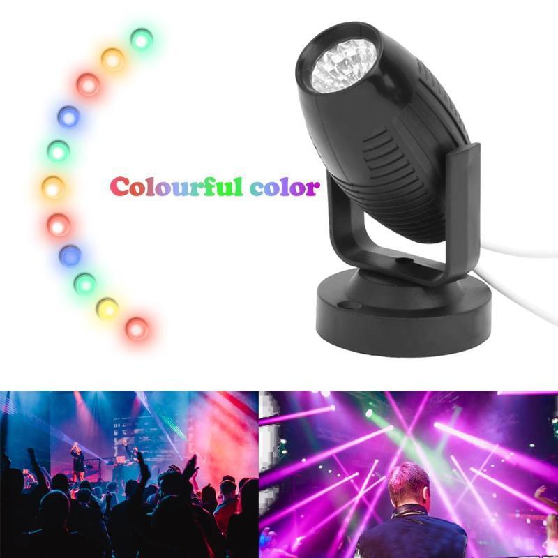 Beam Lights Portable Smart Adjustable Stage Lights Stage Lamp Disco Light Dj Equipment KTV Wedding Supplies Laser Projector