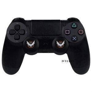Image 4 - IVYUEEN 2 шт., для Sony Dualshock PlayStation 4, PS4 Pro, тонкий контроллер, силиконовые аналоговые ручки для большого пальца, крышка для X Box One X/S