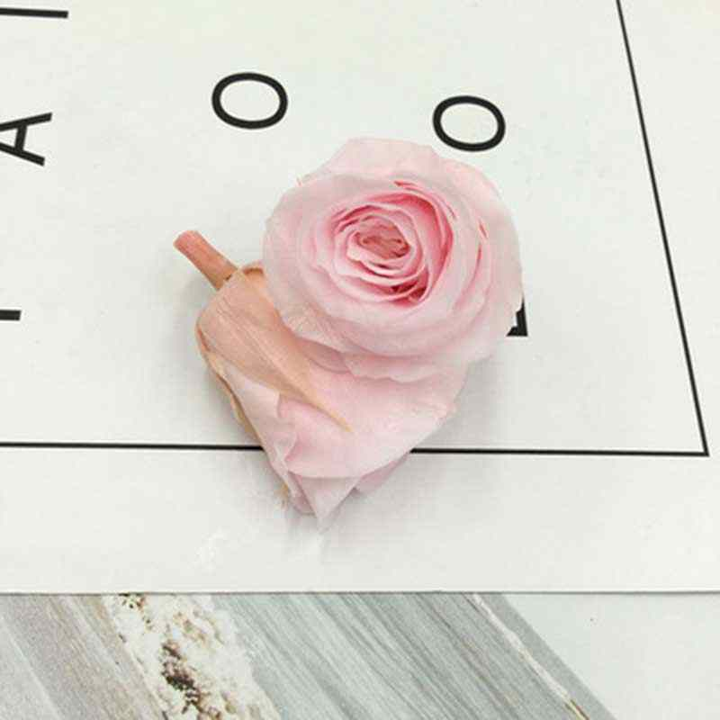 24Pcs Preserved Immortal Rose Flower For Mother Eternal Life Material Flowers