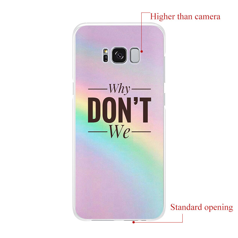 Why Dont We WDW POP Team Silicone Soft Phone Case For Samsung Galaxy S20 Ultra S10 S20+ S9 S8 Note10 S10e Note9 8 S10lite S7 A71