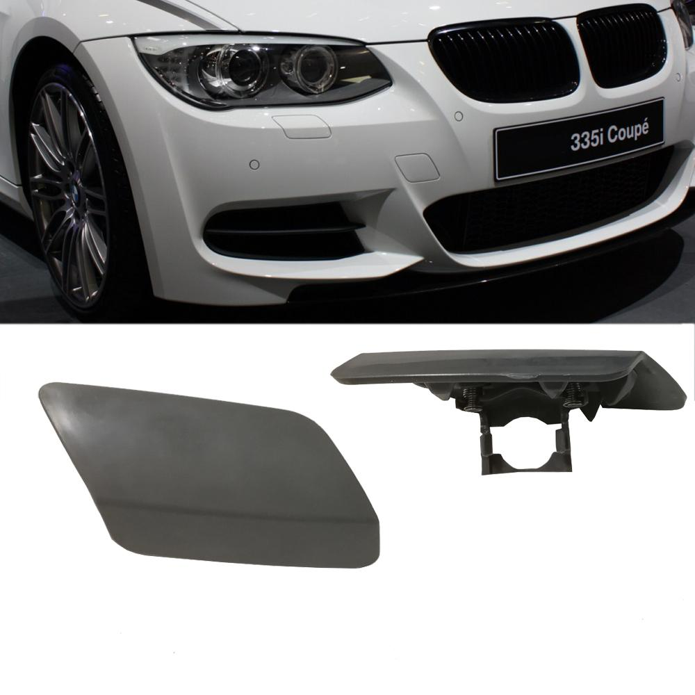 Headlight Washer Nozzles Cover 61677253393 for BMW 3 Series E92 E93 328i 335i 335is 2011-2013 Left