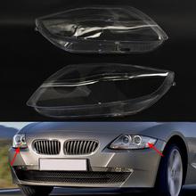 Para lewy i prawy reflektor reflektor pokrowiec na BMW Z4 E85 2003-2008 tanie tanio GZYOCN Reflektory CN (pochodzenie) 63127165653 63127165654 63127165713 63127165714 63127165677 63127165678