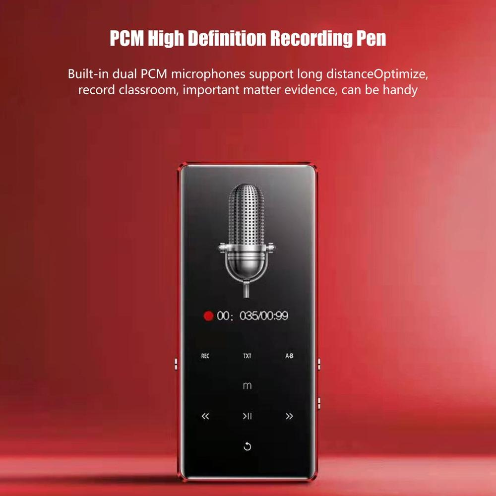 2.4 Inch Screen Player Wireless Mp3/ Student Outside 8G Sports Touch Screen Mp3 Music Video Player