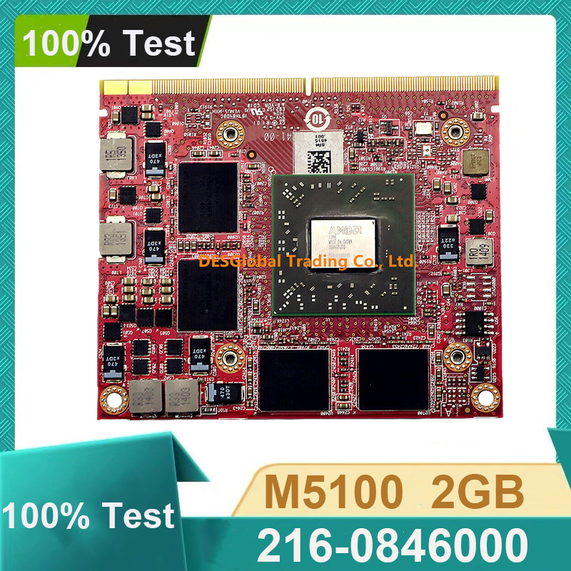 Firepro M5100 2GB MXM GPU Video VGA Graphics Card 216-0846000 CN-05FXT3 For DELL Precision M4600 M4700 M4800 Working Perfectly