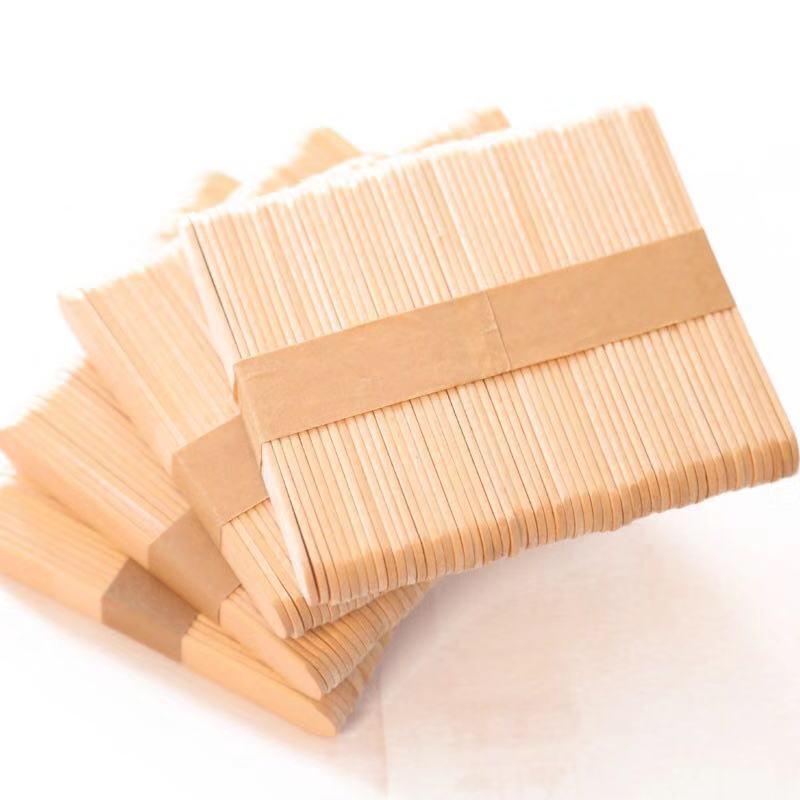 Birch Wooden Ice Cream Stick