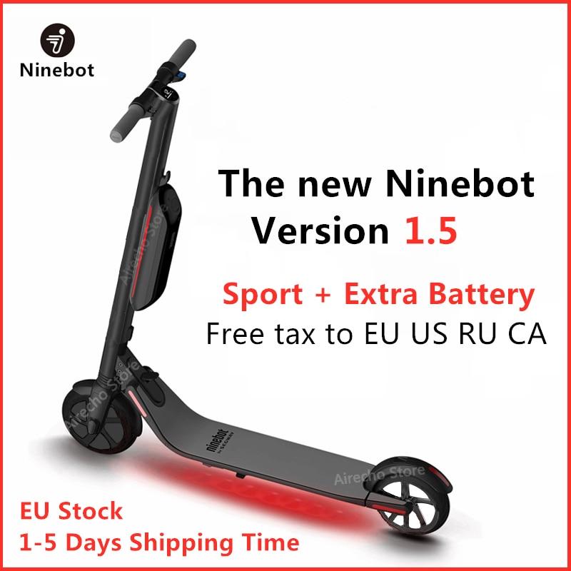 2019The New Ninebot KickScooter ES4 / ES2 Smart Electric Kick Scooter Version 1.5 foldable lightweight hoverboard skateboard Long Board EU Stock