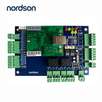 Nordson Original Two door TCP/IP Access Controller With Webserver Free PC Software Large Capcity Multiple 3rd Party Interface