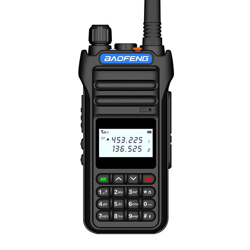 Рация Baofeng, портативная рация высокой мощности с двумя диапазонами, 10 Вт, 30 км, двусторонний радиосвязь, ВЧ-передатчик для любителей