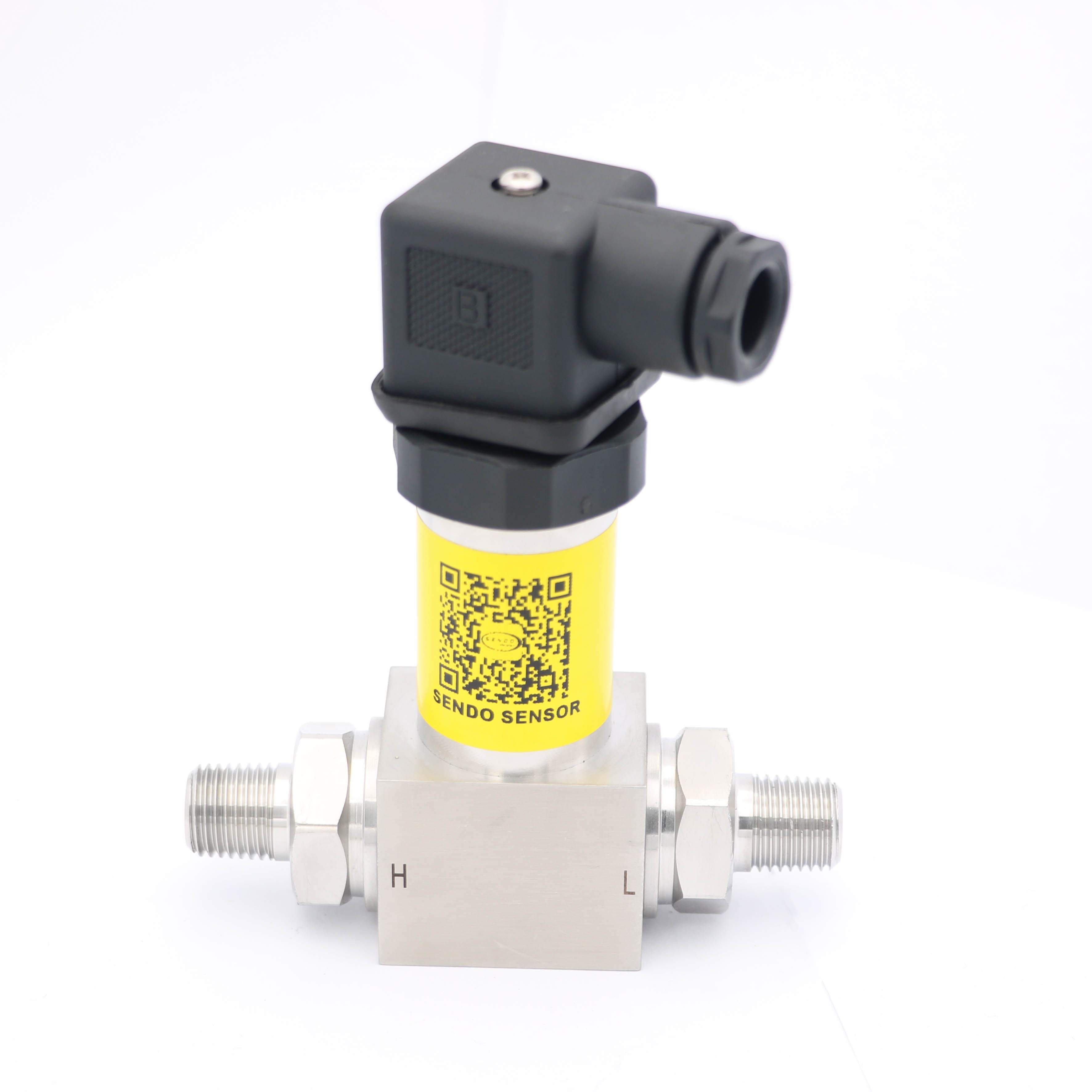 4-20mA, 0-10V, 0-5V, 0.5-4.5V differential pressure transmitter, male pressure port, dp sensors 0.2, 0.35, <font><b>1</b></font>, 4, 6, <font><b>10</b></font>, <font><b>25</b></font> bar image