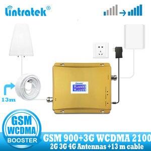 Image 1 - を lintratek ロシア 900 3 3g umts 2100 wcdma 携帯信号ブースター gsm リピータ 2 グラム 3 グラム 900/2100 デュアルバンド携帯電話アンプ