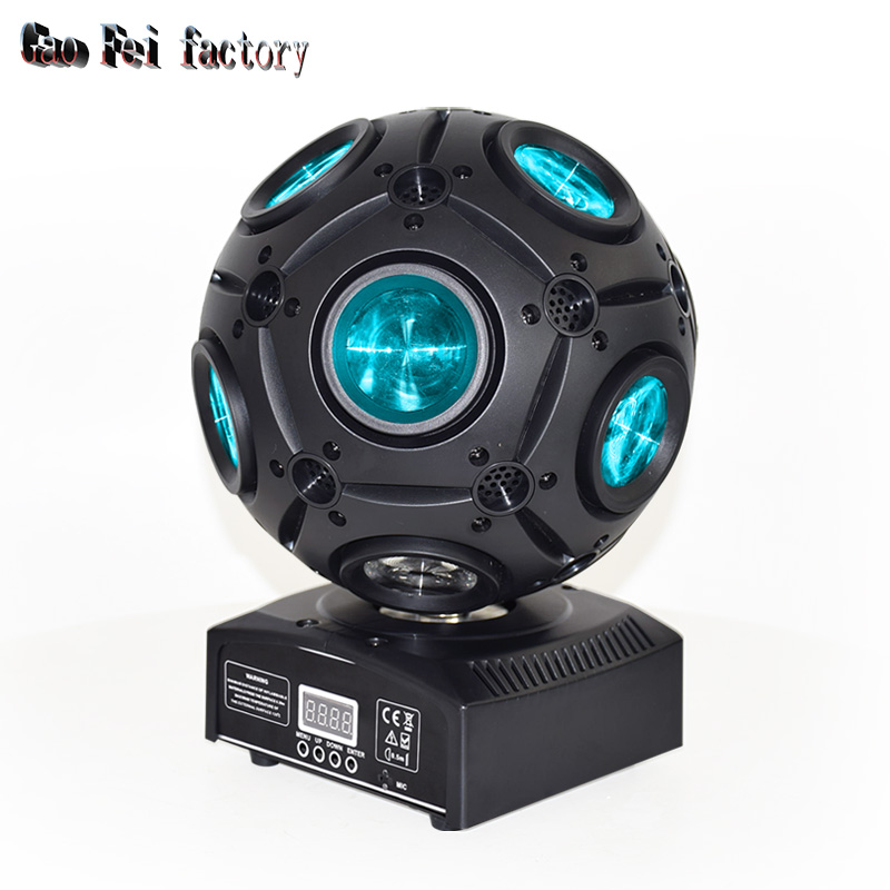 Colors 9x12W Led Magic Ball Beam Moving Head Light For Disco DJ Bar Effect UP Lighting Show DMX Strobe For Party KTV