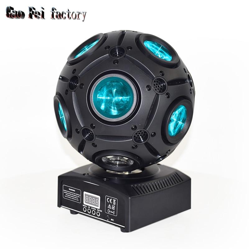 Colors 9x12W Led Magic Ball Beam Moving Head Light For Disco DJ Bar Effect UP Lighting Show DMX Strobe For Party KTV