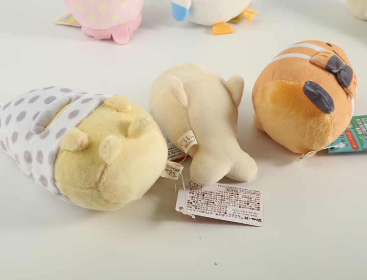 Япония плюшевые игрушки океан Стиль Маленькая Мягкая Подвеска для ключей 5-14 см 8 видов WJ01