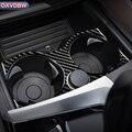 Для BMW 5 серии G30 внутренняя отделка углеродного волокна наклейки для автомобиля Coaster коврик для хранения отделка Чехлы аксессуары для уклад...