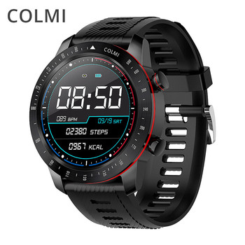 COLMI SKY 6 Smart Watch IP68 Waterproof 1.3''TFT Full Touch Fitness Tracker Tempered Glass Smart Clock Blood Pressure Smartwatch