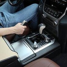 Para Toyota Land Cruiser 200 LC200 2008, 2009, 2010, 2011, 2012, 2013, 2014, 2015 de cuero Cambio de freno de mano de manga