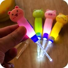 Ушная ложка для очистки с светодиодный подсветкой милый мультяшный