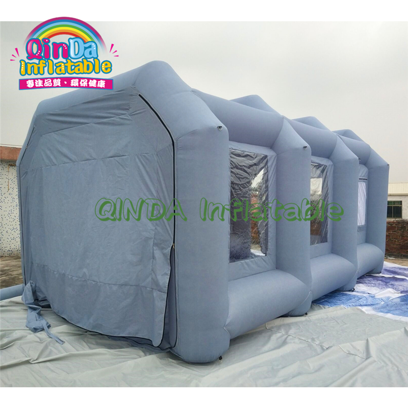 Automobile Inflatable Car Tent Protable Moveable Inflatable Spray Booth Paint Dryer Room
