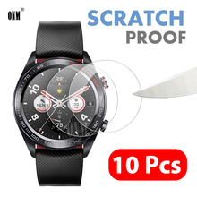 10 Pcs For Amazfit T Rex GTR 42mm 47mm Stratos 3 Pace Verge Lite Sports Tempered Glass Screen Protector Film accessories