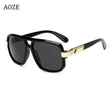 2019 Square Sunglasses Men's luxury brand design couple Lady celebrity flat hot woman sunglasses super Star Cool Eyewear UV400