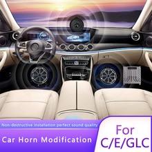 For Mercedes-Benz car audio new E-class w213 C-class w205 C200L GLC260L x253 woofer dsp amplifier audio processor guess what 3 class audio cds