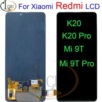 "AMOLED 6.39"" For Xiaomi Mi 9T Pro LCD Display Touch Screen Digitizer Assembly Mi 9T Pro For Xiaomi Redmi K20 Pro LCD Mi 9T LCD"