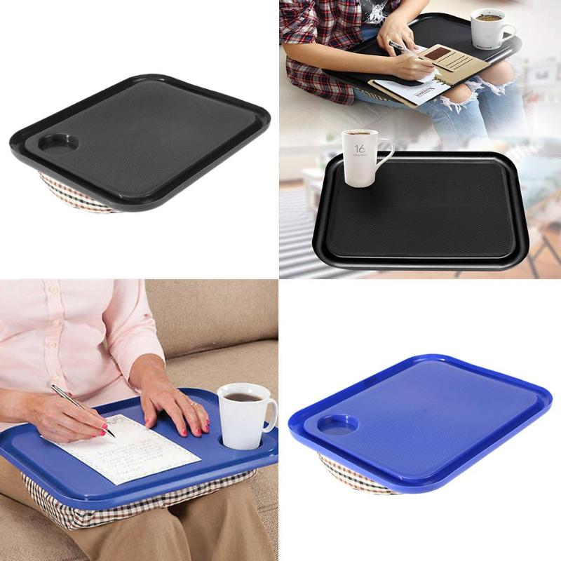 42x33cm Portable Laptop Desk Tray Creative Outdoor Learning Desk Lazy Tables Notebook Laptop Stand Holder For Bed Sofa Dropship