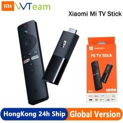 Xiaomi Mi TV Stick глобальная версия Android TV FHD ТВ-приставка четырехъядерный процессор, совместимому с HDMI 1 Гб + 8 Гб Bluetooth, Wi-Fi, Netflix и Google Assistant