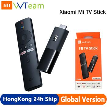 Xiaomi Mi TV Stick wersja globalna Android TV FHD HDR czterordzeniowy HDMI 1GB RAM 8GB ROM Bluetooth Wifi Netflix asystent Google tanie i dobre opinie CN (pochodzenie) W zestawie Wysokiej rozdzielczości 100 gb 1080 p (full hd) Quad-core Cortex-A53 2 0GHZ Mali 450 VP9-10 H 265 H 264 VC-1 MPEG1 2 4 real 8 9 10