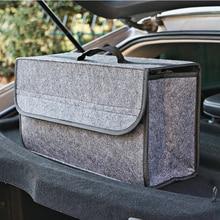 Container-Bags Storage-Box-Case Car-Trunk-Organizer Portable Tidying Interior Auto Felt