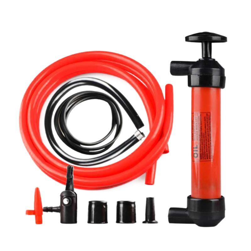 Overdracht Hand Spuit Olie Brandstof Bump Olie Sucker Olie Veranderen Vloeistof Extractor Zuigen Pijp Pistool Pomp Extractor Motor Tool