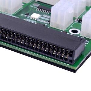 Image 4 - CHIPAL Mô Đun Nguồn Đột Phá Ban Cho HP 750W 1200W PSU Máy Chủ Suất Chuyển Đổi Điện + 17 Chiếc/12 chiếc 18AWG 6Pin 6 + 2 8Pin Cáp Nguồn
