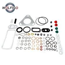 Diesel Engine Fuel Injection Pump Gasket Set Copper Shim Sealing O ring Repair Kit CAV Tractor Pump Kit for Ford Massey Ferguson