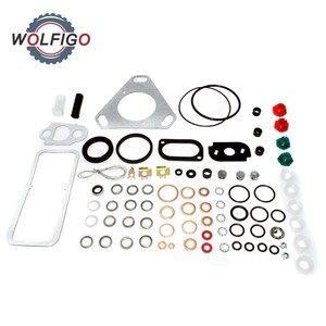 Image 1 - Diesel Engine Fuel Injection Pump Gasket Set Copper Shim Sealing O ring Repair Kit CAV Tractor Pump Kit for Ford Massey Ferguson