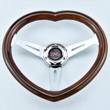 Universal volante de corrida de automóveis profundo milho deriva esporte volante coração