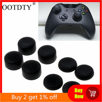 8Pcs Rubber Silicone Cap Thumbstick Thumb Stick Enhance Cover Case Skin Joystick Grip For XBOX-ONE - discount item  20% OFF Games & Accessories