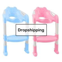 Folding Baby Toilet Training Potties Seats with Adjustable L