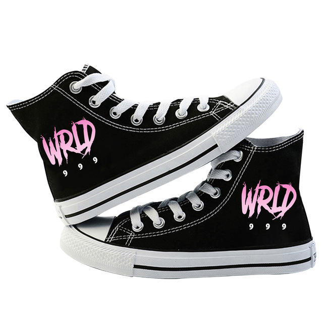 JUICE WRLD THEMED HIGH TOP SHOES (7 VARIAN)