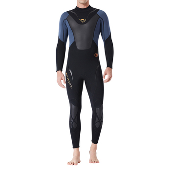 3mm Male Diving Wetsuit One-Piece Diving Suit Jumpsuit Rash Guard Scuba Diving Swimming Freedive Full Body Swimsuit