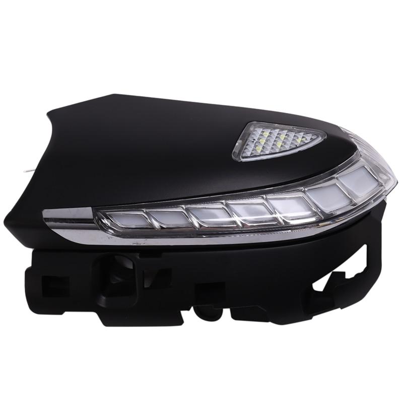 Auto Dynamische Blinker Licht Parkplatz Pfütze LED Seite Spiegel Sequentielle Anzeige Trim für Toyota Camry C HR CHR 2018 2019 prius - 4