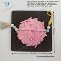Цветок шар  ожерелье орнамент новые деревянные штампы для скрапбукинга CN1026