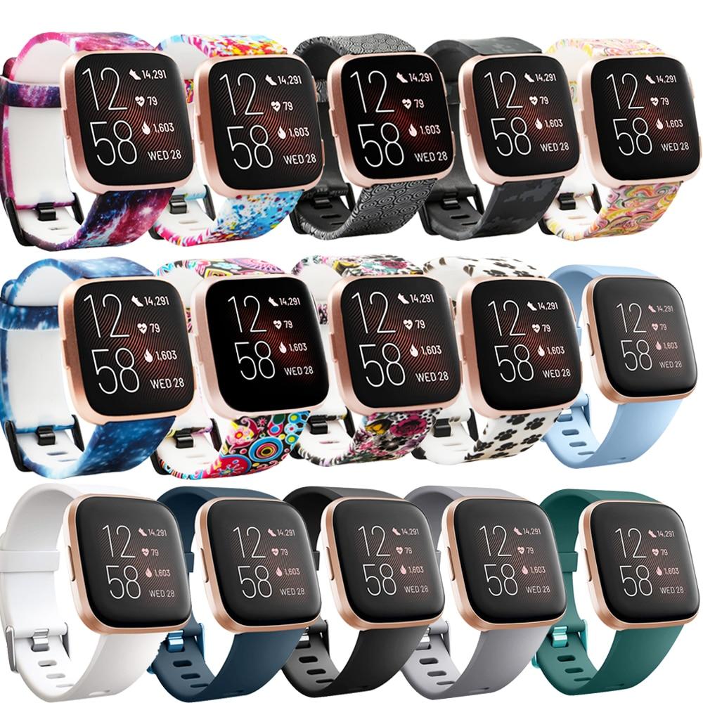 Baaletc для Fitbit Versa 1/2 сменные браслеты спортивные стильные Мягкие силиконовые материалы для Fitbit Versa 2 Smartwatch