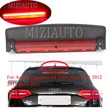 цены Rear LED Third High Brake light For Audi A4 Quattro S4 2009 2010 2011 2012 2013 2014 2015 8K5945097 High Mount Stop Lamp Light