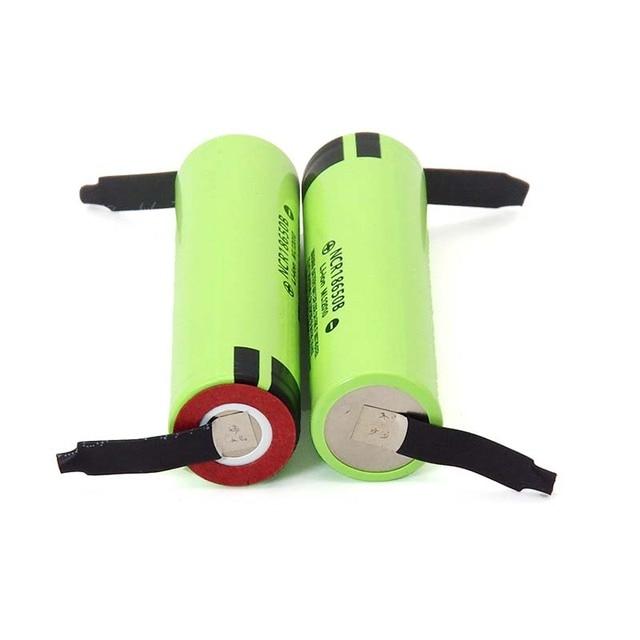 2021 New Original NCR18650B 3.7 v 3400mah 18650 Lithium Rechargeable Battery Welding Nickel Sheet batteries 4